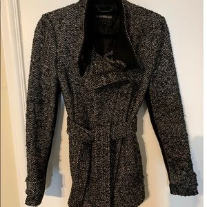 Express Tweed/Wool Trench